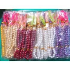 Souvenir Pernikahan Tasbih Mutiara Mini Kemas Plastik Isi 100 Pcs