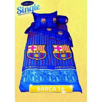Sprei California Disperse Single Motif Barca