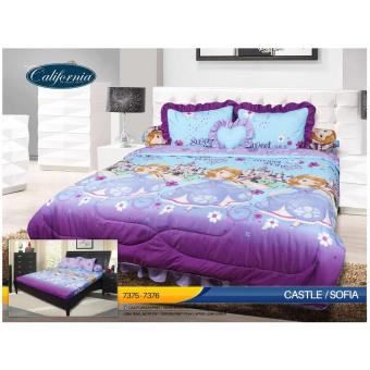 Sprei California King Motif Sofia