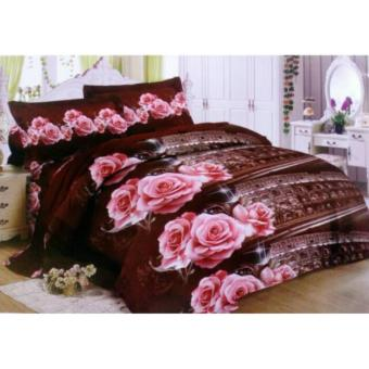 Sprei Lady Rose 160x200 Queen Motif Colloseum