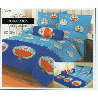 Sprei Lady Rose 160X200 Queen Terlaris Doraemon
