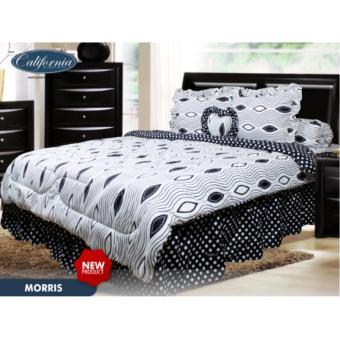 sprei murah Bed Cover Set California Motif Morris 180x200 · >>>>