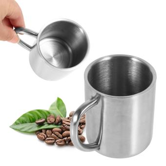 Stainless Steel Double Wall Mug Coffee Tea Milk Cup - intl