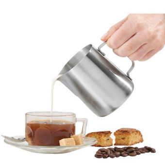 Stainless Steel Espresso Coffee Pitcher Cup Craft Latte Milk Frothing Jug 150ml - intl