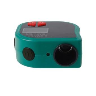 Bintang Mall 18 M Mini Ultrasonik Digital Tape Mengukur Laser Jarak Penemu Meter Laser Penunjuk Rangefinder