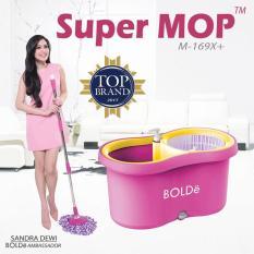 Supermop Bolde M 169X+ / Alat Pel Lantai Serbaguna Bolde M1689X+
