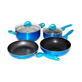 Supra - Rosemary Cookware - Set Perlengkapan Masak - 7 Items Mix Color