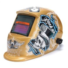 Surya Auto Gelap Penggiling Helm Las MIG Las ARC Cekcok Masker Lensa Baru