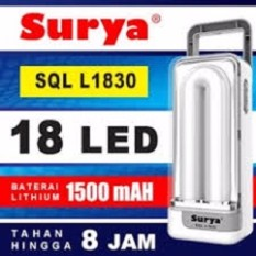 Surya Lampu Emergency SQL L1830 Light LED 18 SMD Rechargeable