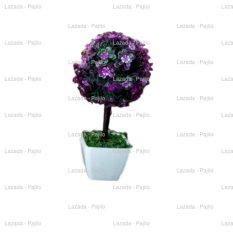 Tanaman Bonsai Topiary Rangkaian Bucket Buket Bunga Pohon Plastik Artificial Artifisial Sintetis Pot