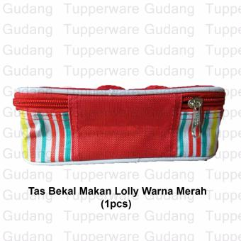 Tupperware Tas Bekal Lolly Warna Merah