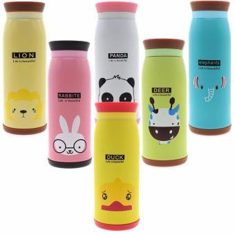 Termos Animal Karakter 500ml ( Botol AIR Minum Tahan PANAS DINGIN)