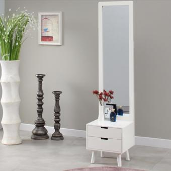 The Olive House - Meja Rias HR Stand Mirror