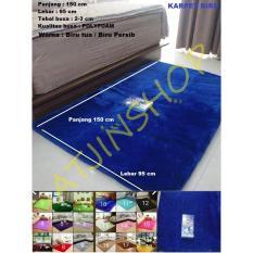 TjinCollection-Karpet Bulu Rasfur Lembut Busa POLYFOAM Berkualitas 150 x 95 Cm [Multicolour]