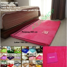 TjinCollection-Karpet Bulu Rasfur Lembut Busa Super Berkualitas 200 x 150 Cm [Multicolour]