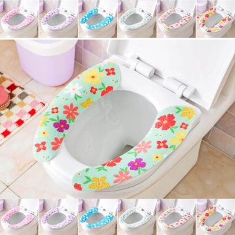 Toilet Seat Cover Sheets Washable Pads random color - intl