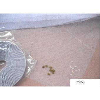 Bandingkan Toko TOKO49 Tirai Jendela anti Nyamuk Lalat Serangga Window Curtain Seal harga .