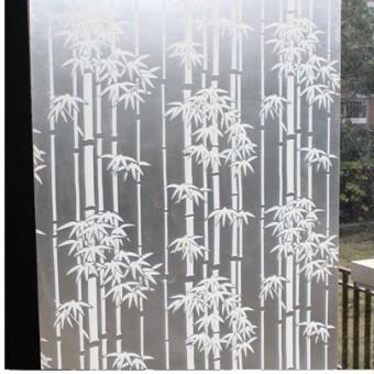 Transparan kantor jendela stiker perekat diri kaca film