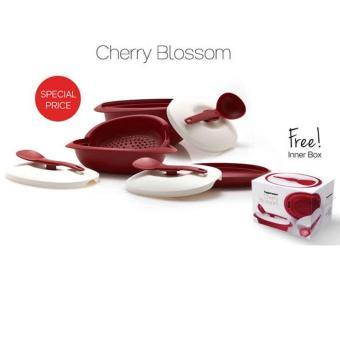 Tupperware Cherry Blossom - Red