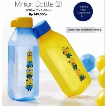 Tupperware Eco Minion Bottle 500 ml Tempat Minum Botol Minnion 500ml