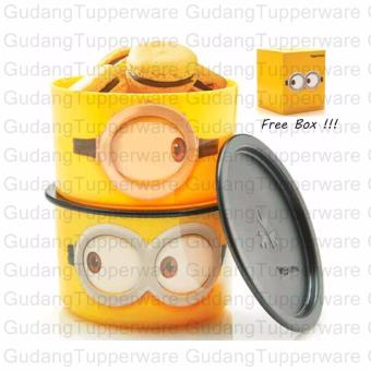 Tupperware Minion Google Canister (2pcs)
