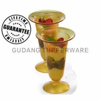 Tupperware Parfait Glass 2pcs- Gelas Cantik