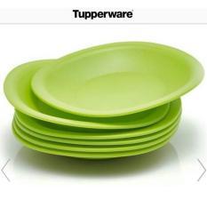 Tupperware sweet blossom plate (4pcs)