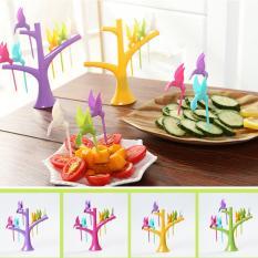 Tusuk Buah Burung - Hummingbird fruit fork set series