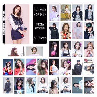 Harga Twice Cheer Up Knock Knock TT Album Kpop LOMO Cards New FashionSelf Made Paper Photo Card HD Photocard - intl