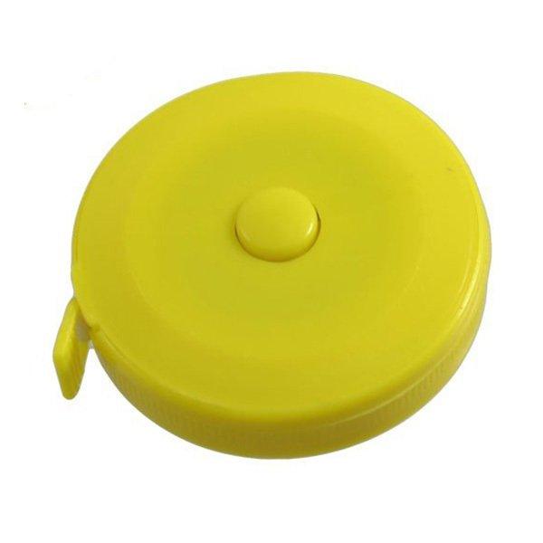 Unik Meteran Gulung Mini Candy Color Yellow .