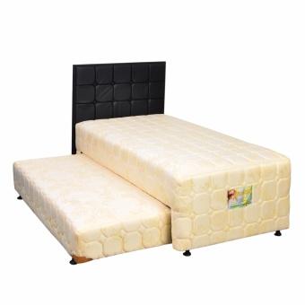 Uniland Standard 2 in 1 Springbed Cream Size 120 x 200 HB Sydney - Full Set - Khusus Jabodetabek, 2.083.200 ...