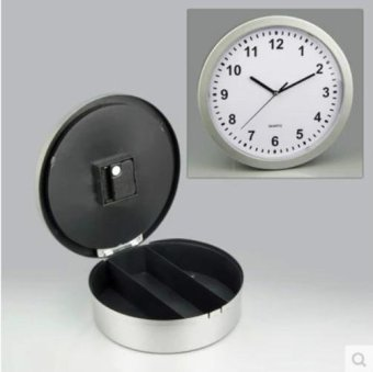 Wall Safe Clock, Wall Clocks With Hidden Compartment Secret StashBox. Functioning Kitchen Clock To STASH CASH In The Secret Place. -intl - 3