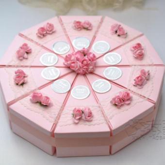 Wedding Souvenir Kotak Kado Candy Favor Box Hadiah Ultah MCEP
