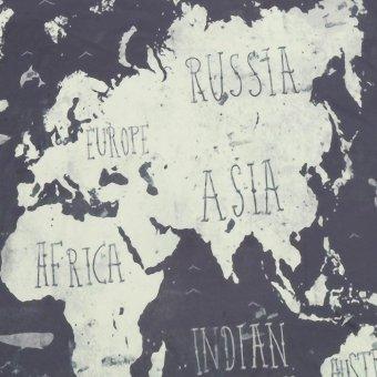 Dream Catcher Bersih Dengan Dekorasi Gantungan Bulu Hitam Daftar Source · World Map Indian Mandala Wall