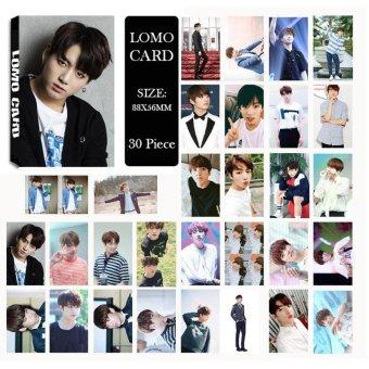 Youpop KPOP BTS Bangtan Boys Young Forever Part2 JUNGKOOK PhotoAlbum LOMO Cards Self Made Paper Card