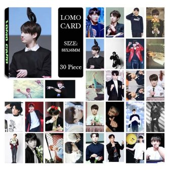 Youpop KPOP BTS Bangtan Boys Young Forever pt.1 JUNGKOOK Photo Album LOMO Cards Self