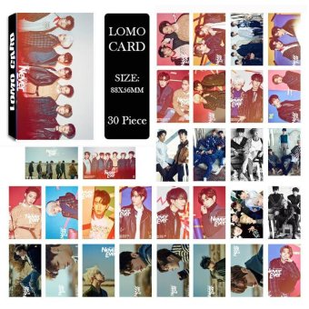 Youpop KPOP GOT7 Shopping Mall Never Ever Album LOMO Cards K-POPNew Fashion Self Made Paper Photo Card HD Photocard LK463 - intl