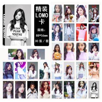 Youpop KPOP Twice Cheer Up Tzuyu Album LOMO Cards K-POP New FashionSelf Made Paper Photo Card HD Photocard LK461 - intl