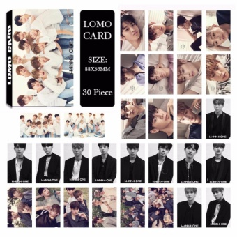 Youpop KPOP WANNA ONE Album LOMO Cards K-POP New Fashion Self MadePaper Photo Card HD Photocard LK505 - intl