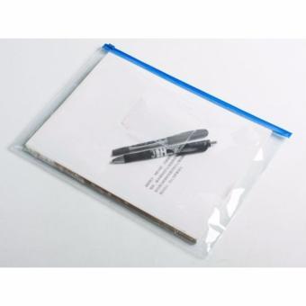 Zipper Plastik ukuran A3 - 10pcs/pak
