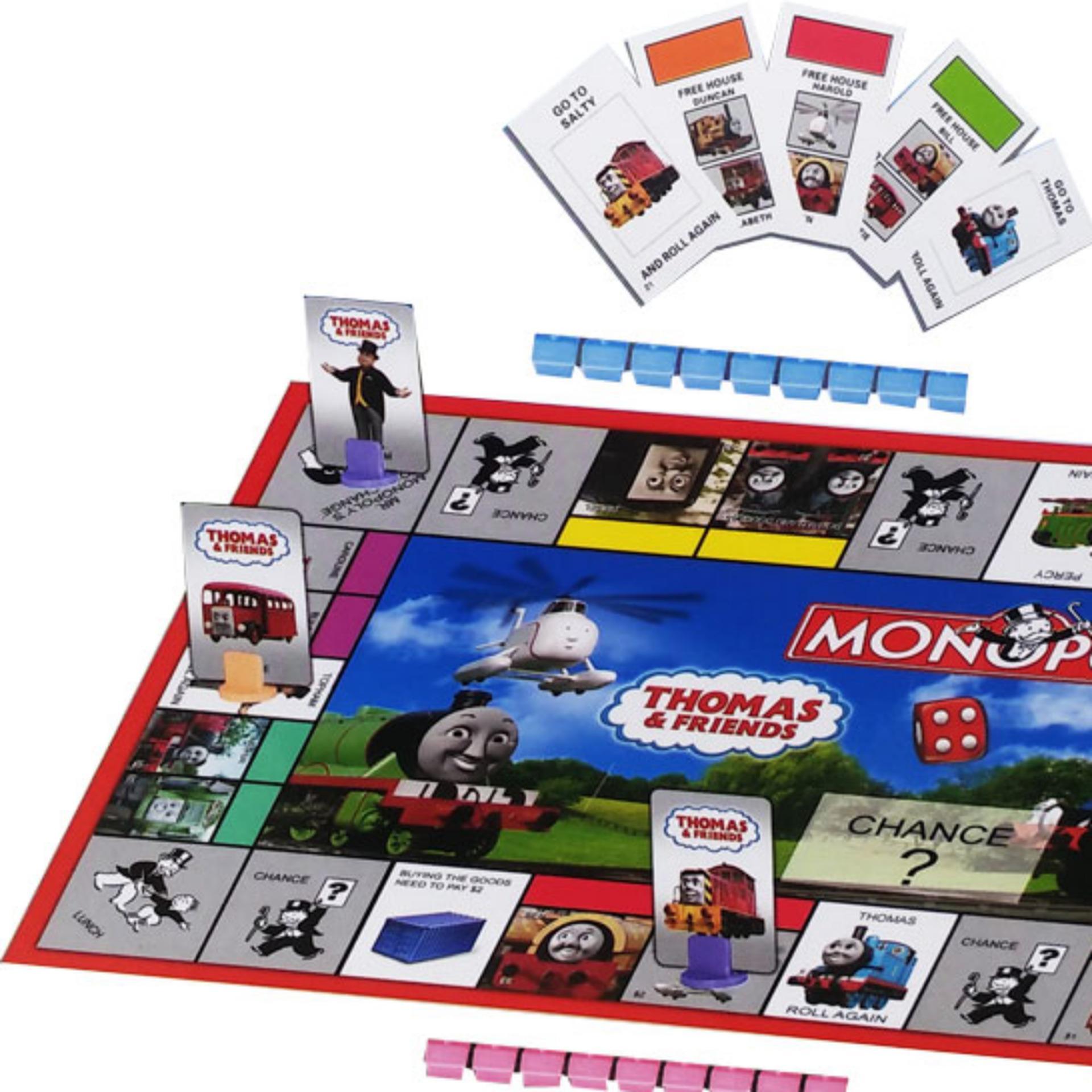 Perbandingan Harga 0840190016 Mainan Anak Monopoli Thomas Jam Tangan Friends