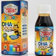 1 botol madu anak ratu lebah Junior DHA GOLD 150 gr