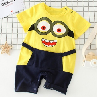 100%Cotton Summer Newborn Girl Boy Baby suits Clothes High QualityCute Short Sleeve Baby Costumes