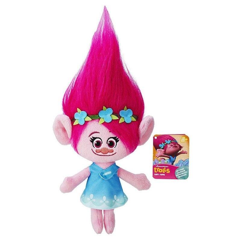 2Pcs Trolls Poppy and Branch Plush Stuffed Doll Toy Cotton Kid GirlChristmas