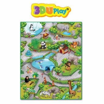 3DUplay Smart Playmat Zoo 90 x 120 cm Karpet Kebun Binatang