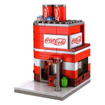 AA Toys Sembo Block Coca Cold Cola Shop SD6024 - Mainan Bangunan Coca Cola Shop