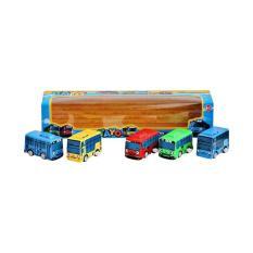 AA Toys Tayo The Little Bus Isi 5 Pcs - Mainan Bus Karakter Tayo Isi 5 Pcs