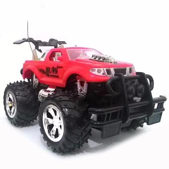 AHS RC Mobil Bigfoot Pick Up Skala 1/24 - Merah