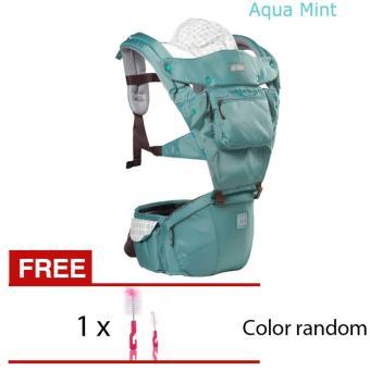 AIEBAO A6627 Multifunctional Waist Belt Infant Hip Seat BabyCarrier(Green) - intl