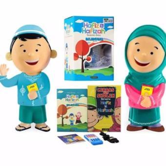 Gambar Al Qolam Hafiz Hafizah Talking Doll Boneka Bisa Mengaji dan Berbicara (Sepasang)